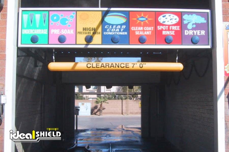 Overhead Height Clearance Bars For Parking Garages Ideal