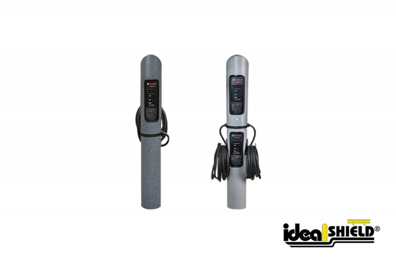 Ideal Shield's Single and Dual EV Charging Stations