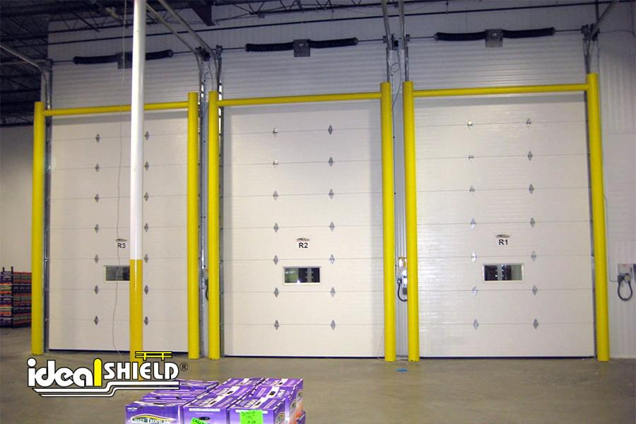 The Best Way To Protect Loading Dock Doors Ideal Shield