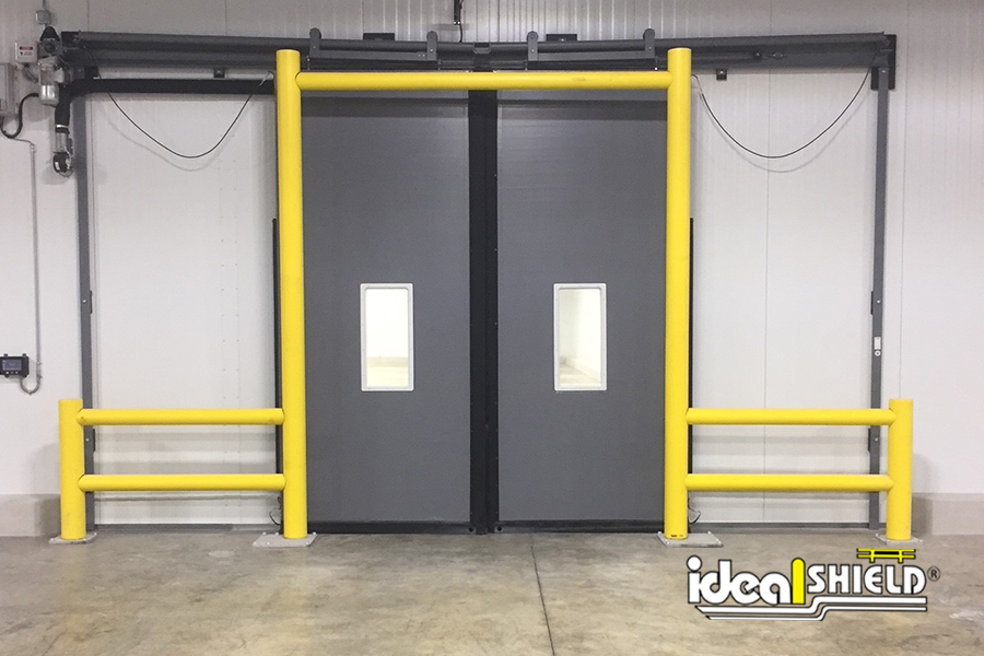 Ideal Shield's Goal Post Doorway Protection with Guardrail Wings