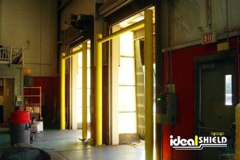 Goal Post Dock Door Protection For Garage Entry & Exit