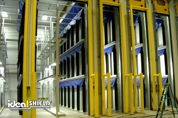 Garage Doors To Inventory Units Guarded By Overhead Door Protection