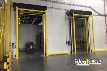 Ideal Shield's Goal Post Dock Door Protection systems