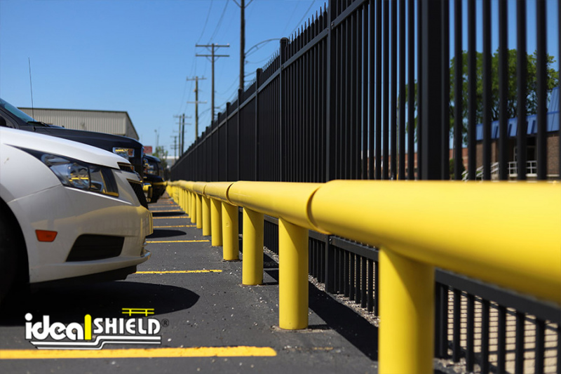 Ideal Shield's One-Line Heavy Duty Guardrail