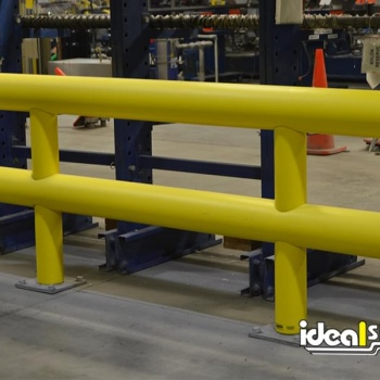 Two Line Industrial Guardrail