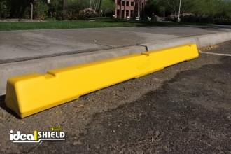 Plastic Parking Block Yellow