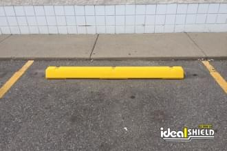 Yellow Parking Block