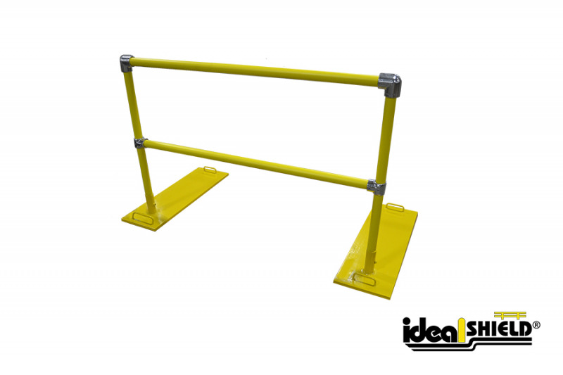 Ideal Shield's Roof Fall Protection Railing