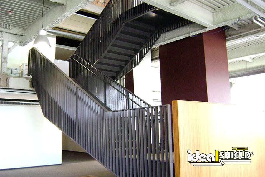 Steel Handrail Custom Infill