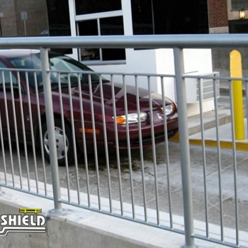 Ideal Shield's Steel Handrail with Infill
