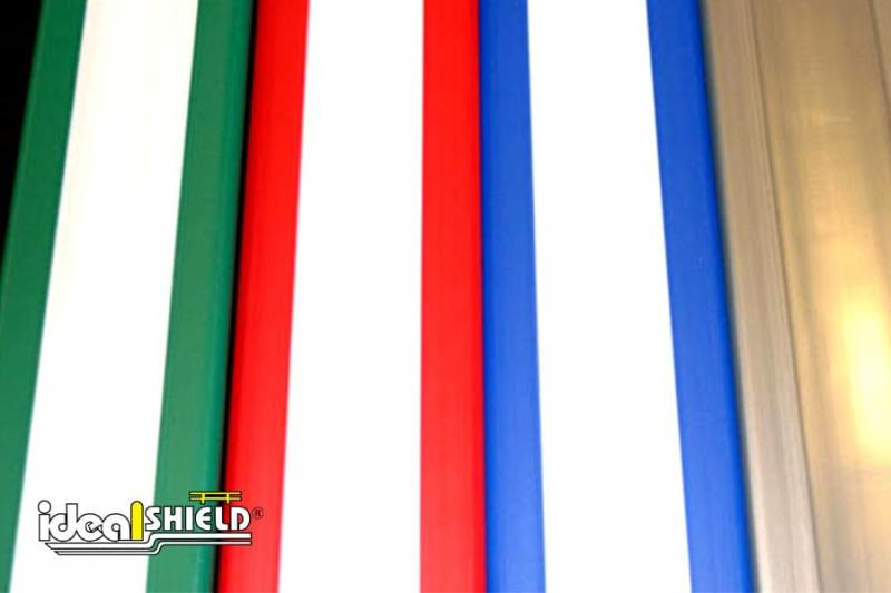 Ideal Shield's U-Channel color options