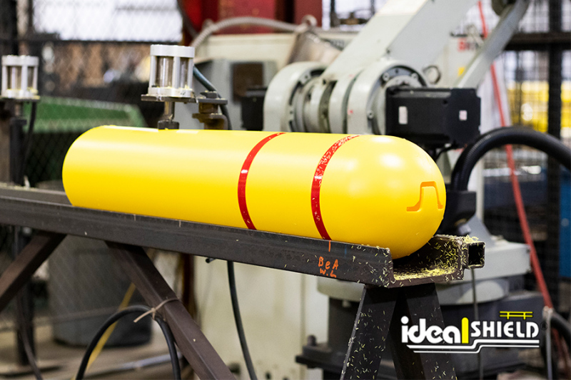 Ideal Shield's UChannel cutting capabilities for Bollard Sign Systems