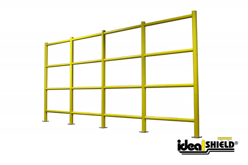Ideal Shield's Safety Wall Guardrail System