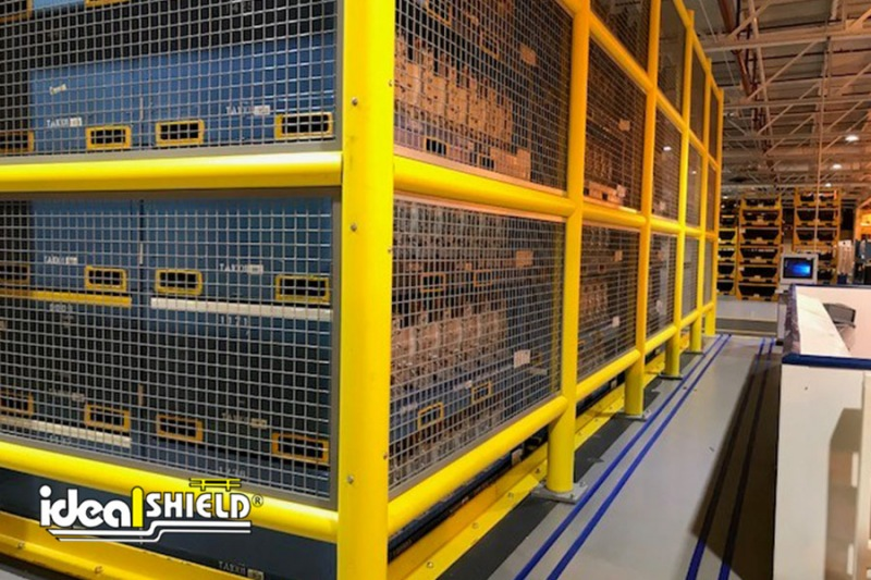 Ideal Shield's Safety Wall Guard System with infill