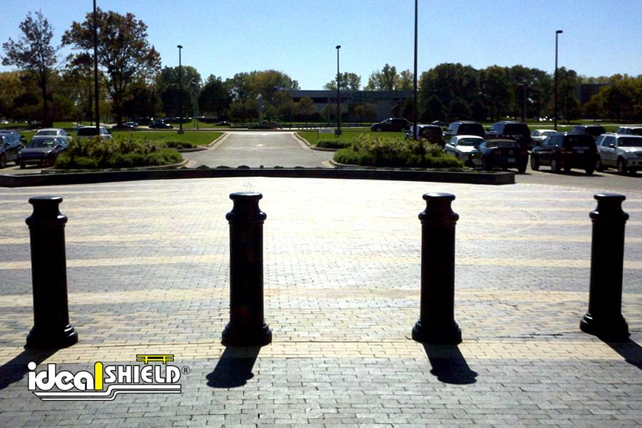 "Ideal Shield's 10"" Pawn Bollard Covers"