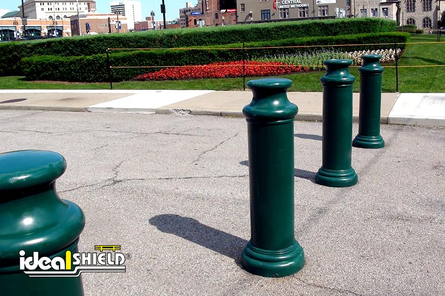 "Decorative Bollard 10"" pawn decorative bollard cover 