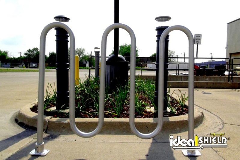 Ideal Shield's Aluminum Bike Rack