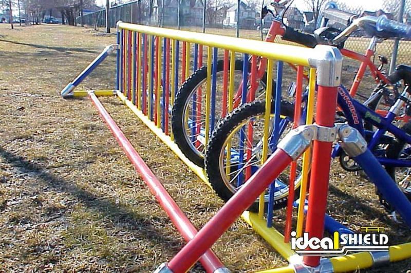 Multi Colored Bike Rack