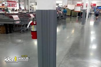 Grey Retail Column Wrap