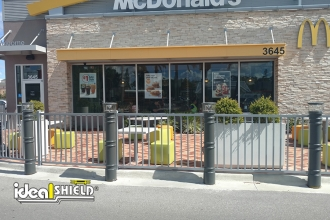 Lighted Bollards McDonalds 1
