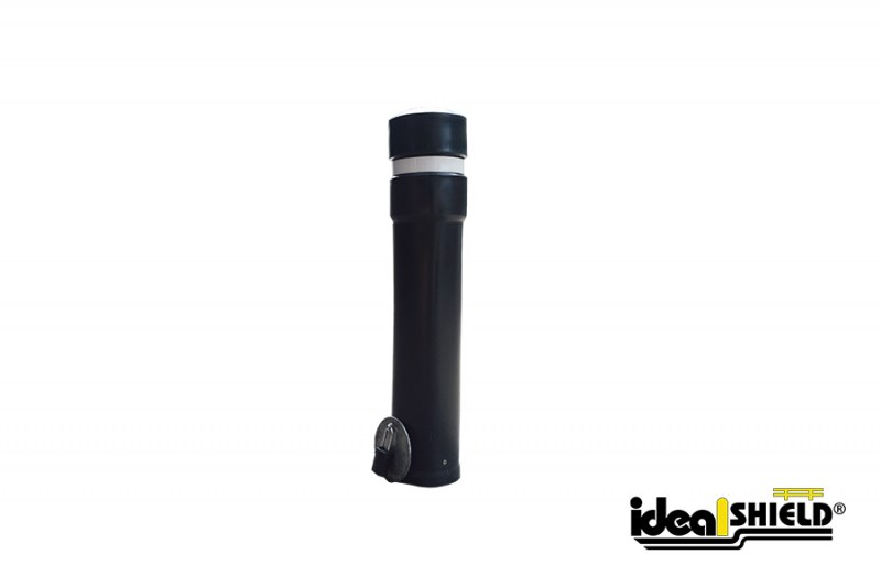 Ideal Shield's Removable Locking Bollard with Decorative Bollard Cover