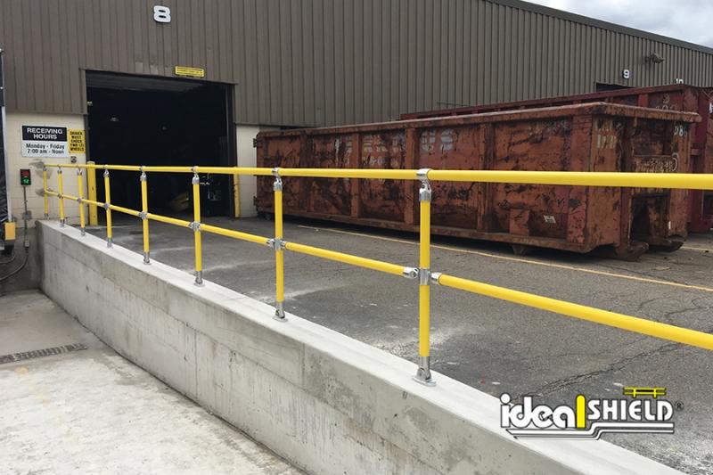 Ideal Shield's Steel Pipe & Plastic Handrail