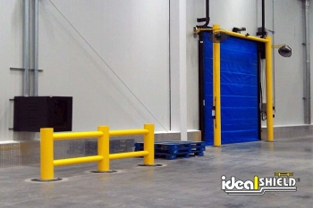Core In Rack System Guardrail - A Removable Option