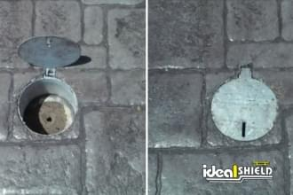 Removable Locking Bollard Safety Cover
