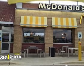 McDonalds Bollard Sign System (2)
