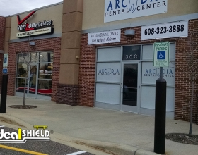 Store Front Protection Bollard Sign Systems