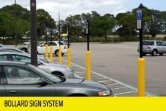 Retail - Bollard Sign System