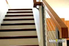 Cable Handrail Stair Application