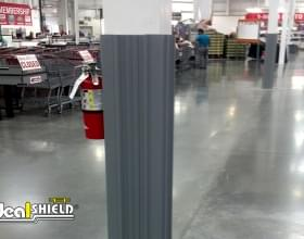 Ideal Shield's grey square Column Wrap