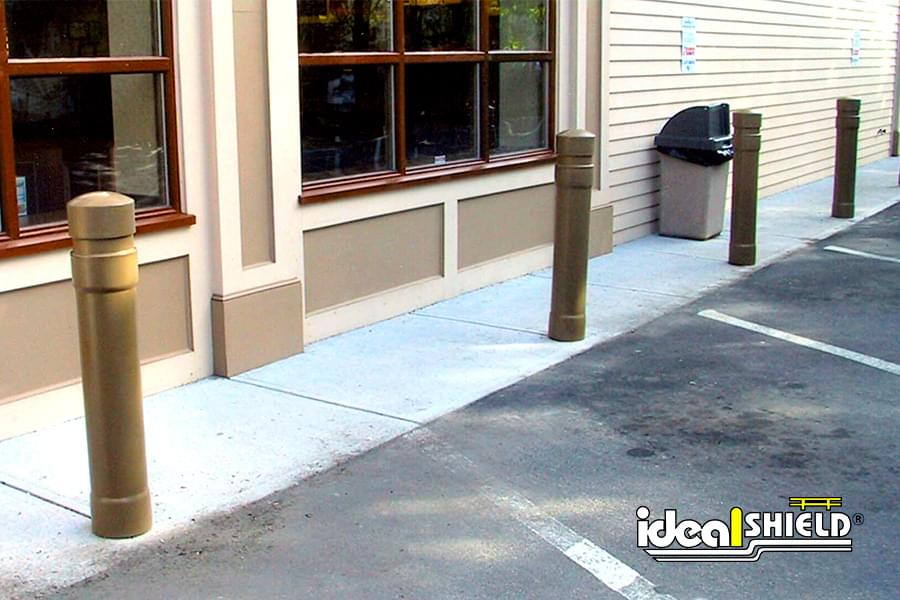 2016 national safety council congress expo ideal shield - Decorative and safety bollards for your home ...