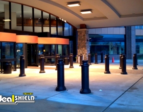 "Ideal Shield's 10"" Pawn Decorative Bollard Covers"
