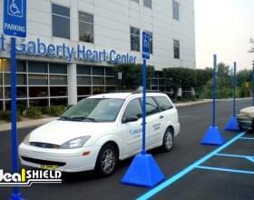 Blue Pyramid Sign Base