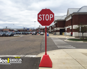 stop sign pyramid base