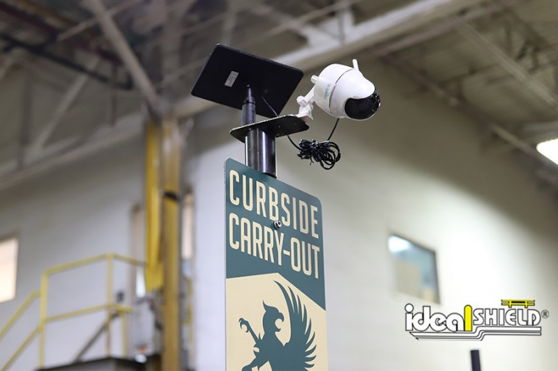 Ideal Shield's Sign System with Camera