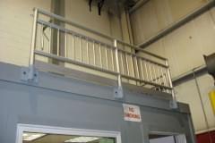 Custom Aluminum Handrail Balcony Protection
