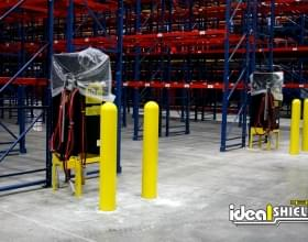 Heavy Duty Bollard Cover Protecting Electrical Equipment
