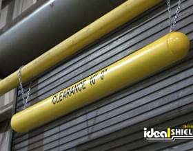 Yellow Clearance Bar For Garage Door