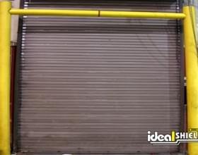Garage Dock Door With Goal Post Protection
