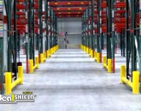Aisle Of Rack Guard Systems For Forklift Protection