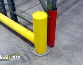 Rack Guard Warehouse Pallet Rack Protection - Close