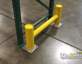 Rack Guard Warehouse Pallet Rack Protection - Angle