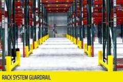 Warehouse - Rack System Guardrail