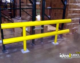 Two Line Standard Guardrail Rack Protection