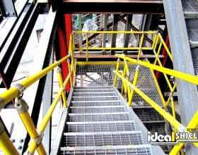 Steel Pipe & Handrail Stairs