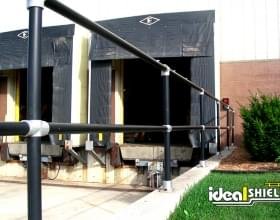 Black Steel Pipe & Handrail