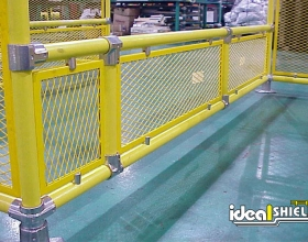 Custom Steel Pipe & Handrail With Infill